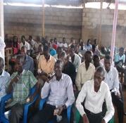 Youth seminar in Bujumbura